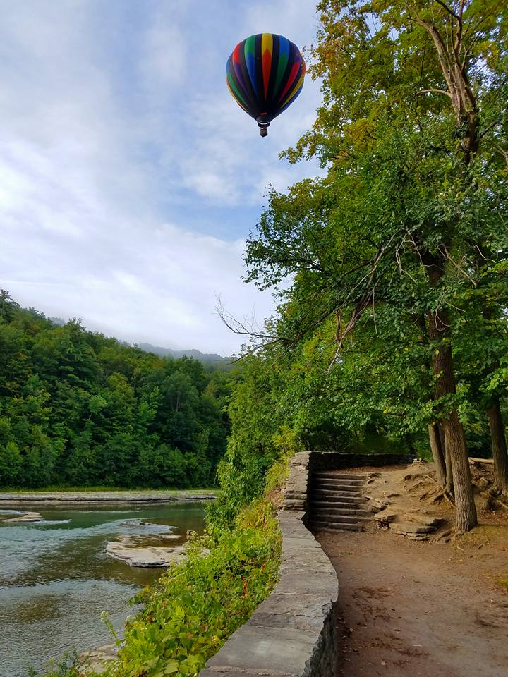 Liberty Balloon over Letchworth Park